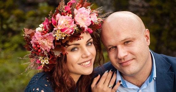 Осенняя история Елены и Богдана